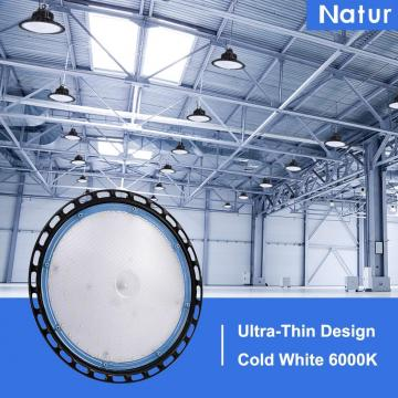 Industrial UFO Pendant LED Lamp, 100W High Bay Ceiling Light, 6000K 10000LM, Commercial LED Lights for Warehouse Workshop Garage Shop Lighting by Natur [Energy Class A++]