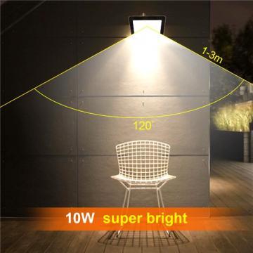bapro 10W Flood Lights Outdoor,Super Bright Security Lights,IP65 Waterproof Flood Light, Daylight White(6000K) Outdoor Flood Light Wall Light, 24 Month Warranty[Energy Class A++]…