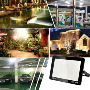 bapro 100W Flood Lights Outdoor,Super Bright Security Lights,IP65 Waterproof Flood Light, Daylight White(6000K) Outdoor Flood Light Wall Light, 24 Month Warranty[Energy Class A++]…