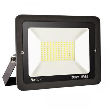 bapro 100W LED Outdoor Floodlight,Led Floodlight Super Bright, Garden Lights Warm White(3000K), IP65 Waterproof Outdoor Flood Light Wall Light Perfect for Garage, Garden, Forecourt[Energy Class A+]…