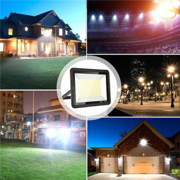 bapro 300W LED Outdoor Floodlight,Led Floodlight Super Bright, Garden Lights Cold White(6000K), IP65 Waterproof Outdoor Flood Light Wall Light Perfect for Garage, Garden,Forecourt[Energy Class A+]…
