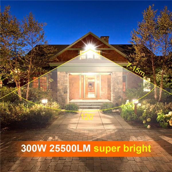 bapro 300W Flood Lights Outdoor,Super Bright Security Lights,IP65 Waterproof Flood Light, Warm White(3000K) Outdoor Flood Light Wall Light, 24 Month Warranty[Energy Class A++]…