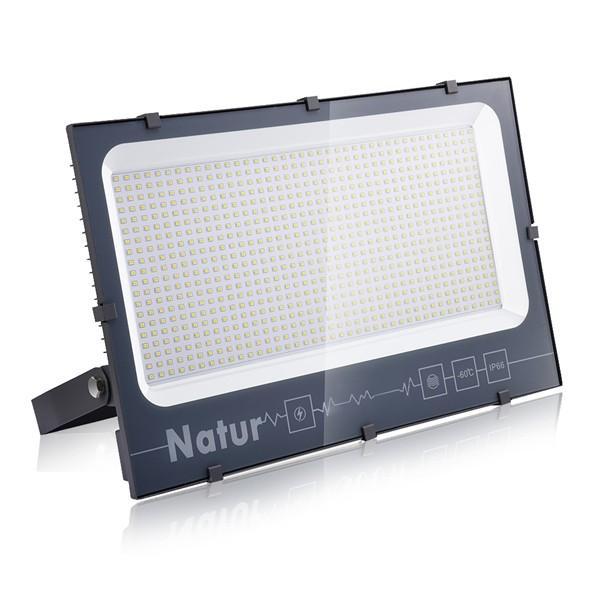 Bapro 500W LED Floodlight,IP66 Waterproof LED Smart Floodlight 50000LM, Warm White(3000K) Led Security Light Super Bright, Outdoor Lights for Garden Garage Doorways [Energy Class A++]